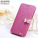 ส่วนลด Rzants เคส For Nova 2I Luxury Slim【Butterfly】With Stand Magnetic Leather Flip Case Cover เคส For Huawei Nova 2I Intl Rzants ใน จีน