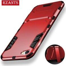 ขาย Rzants เคสสำหรับ Oppo R9S พลัส ชุดเกราะ มีขาตั้งพับเก็บได้ กันกระแทกกลับปกคลุมกรณี นานาชาติ ใหม่