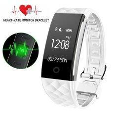 ขาย S2 Bluetooth Smart Band Wristband Heart Rate Monitor Ip67 Waterproof Smartband Bracelet For Android And Ios Intl จีน ถูก