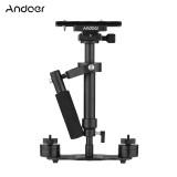 ราคา Andoer S40 Professional 40Cm Aluminum Alloy Handheld Stabilizer With Quick Release Plate And Clamp Base For Canon Nikon Sony Dslr Cameras Lightweight Camcorders Max Load 2Kg Intl ที่สุด