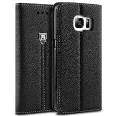 เคสS7 Edge Cases S7 Edge เคส Samsung S7 Edge เคสซัมซุง S7 Edge Galaxy S7 Edge Bez® เคสมือถือ ฝาพับ ฝาปิด ตั้งได้ มีช่องใส่บัตร เคสหนัง ซองมือถือ Samsung Galaxy S7 Edge Flip Case Cover Pu2 Gs7E ถูก