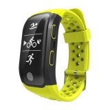 ทบทวน S908 Wristband Heart Rate Monitor Smart Watch Gps Trajectory Tracker Outdoor Sports Waterproof For Android And Ios Phone Intl Smart Watches
