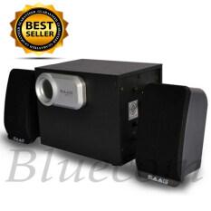 ขาย Saag ลำโพง สเตอริโอ 800W รุ่น Micro 2 1 สีดำ