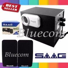 ส่วนลด Saag ลำโพง Multimedia Speaker Micro 2 1 800W Black Silver Saag ไทย