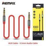 ซื้อ สาย Aux 3 5 สีแดง ยี่ห้อ Remax ลิขสิทธิ์ประเทศไทย ของแท้ 100 Remax