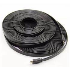 สาย HDMI 5 เมตร v1.4 แบบแบน (Black)