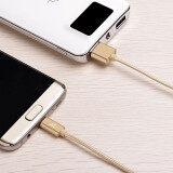 ส่วนลด สายชาร์จ ที่ชาร์จแบต รุ่น X2 Micro Usb แบบถัก Quick Charge Data Cable สำหรับ Samsung Android Phone สีทอง Hoco กรุงเทพมหานคร