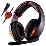 ส่วนลด Sades Sa 902 Led Light 7 1 Surround Sound Channel Gaming Headsets With Microphone Usb Headphone Noise Cancelling Earphone For Pc Intl Sades
