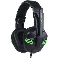 ซื้อ Salar หูฟังเกมมิ่งพร้อมไมค์ รุ่น Kx101 Black ถูก ใน ไทย