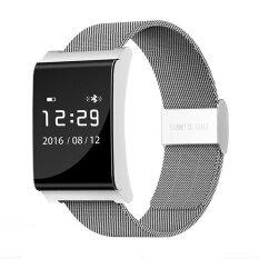 ราคา Sample X9 Plus Ble 4 Heart Rate Smart Wristband Blood Pressure Oxygen Monitor Bracelet Silver Intl Unbranded Generic