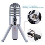 ราคา Samson Meteor Mic Studio Desktop Recording Condenser Microphone Fold Back Legs Design With Usb Cable Carrying Bag For Computer Notebook Tablet Pc Intl Unbranded Generic เป็นต้นฉบับ