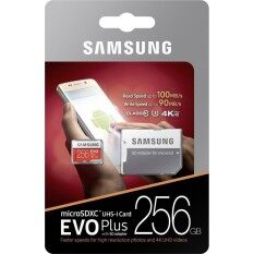 Samsung 256GB EVO Plus 100MB/s Micro SDXC With SD Adapter