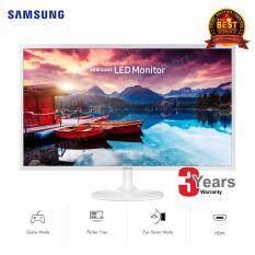ส่วนลด Samsung 31 5 Uhd Monitor Ls32F351Fuexxt White High Glossy