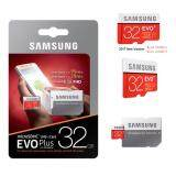 ราคา Samsung 32Gb Evo Plus Micro Sd With Adapter 95M S Samsung เป็นต้นฉบับ