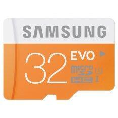 ขาย ซื้อ Samsung 48Mb S Class 10 Evo Micro Sd 32Gb Uhs I Memory Card Class10 Microsdhc With Adaptor Intl