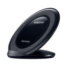 Samsung ที่ชาร์จไร้สายชนิดขาตั้ง Fast Wireless Charger Stand สีดำ ( ของแท้ )