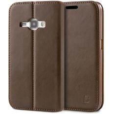 ราคา เคส Samsung Galaxy J1 2016 Wallet Flip Case Cover Brown Bez® เคสหนัง เคสซัมซุง J1 2016 ฝาพับ ฝาปิด ซองมือถือ กันกระแทก สีน้ำตาล Pu4 Gj120 ใน กรุงเทพมหานคร