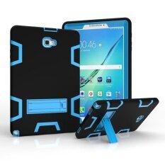 โปรโมชั่น Samsung Galaxy Tab 10 1 พร้อมปากกาเอส 3In1 คอมโบไฮบริด Heavyduty Armor ซองแบบเต็มรูปแบบป้องกัน Kickstandcase สำหรับ Samsung Tab 10 1 เอสปากกา Sm P580 P585 นานาชาติ ถูก