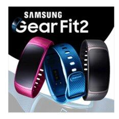 Samsung Gear Fit2 Gps Sports Band Samsung Smart Watch Black Pink Large Small Band Intl เกาหลีใต้