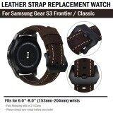 โปรโมชั่น สายหนัง แท้ สำหรับ นาฬิกา Samsung Gear S3 Frontier Classic Replacement Leather Strap Band For Samsung Gear S3 Frontier Classic
