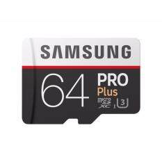 ขาย Samsung Pro Plus Microsd Card ความจุ 64 Gb ถูก