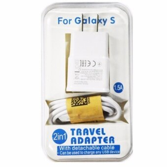 Samsung หัวชาร์จและสาย Samsung Galaxy noet 3/S4/S5/S6 Micro USB Data Cable + Home Wall Charger