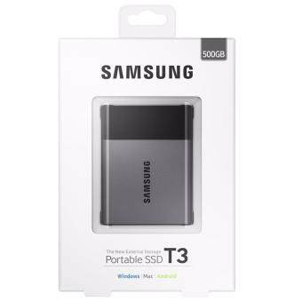 Samsung500GB T3 Portable SSD with USB3.0 and OTG