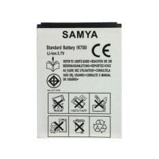 Samya Battery For Sony Ericsson 41 Erk750 Bst 37 เป็นต้นฉบับ