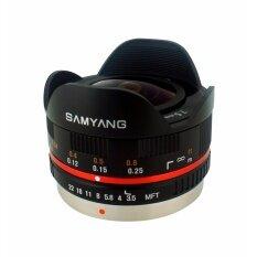Samyang 7 5Mm F 3 5 Umc Fisheye Mft Lens Black Intl ฮ่องกง