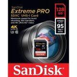 โปรโมชั่น Sandisk 128Gb Extreme Pro Sdxc 633X 95Mb S