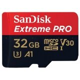Sandisk 32 Gb Micro Sd Card Sdhc Extreme Pro Class 10 Sandisk Sdsqxcg 032G Gn6Ma ถูก