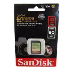 ขาย Sandisk 32Gb Extreme Sdhc 600X 90Mb S ของแท้ Synnex รับประกันตลอดชีพ ขนส่งโดย Kerry Express ใหม่
