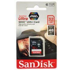 ขาย Sandisk 32Gb Ultra Sdhc 320X 48Mb S ของแท้ Synnex รับประกัน 7ปี ขนส่งโดย Kerry Express ออนไลน์ กรุงเทพมหานคร