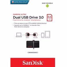 SanDisk 64GB Ultra Dual USB Drive USB3.0