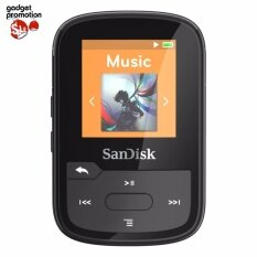 Sandisk Sansa Clip Sport Plus 16GB เครื่องเล่น MP3 พร้อมบลูธูทในตัว (Black)