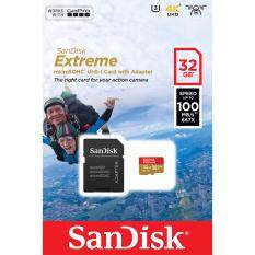 SanDisk Extreme Micro SDHC UHS-I Card for Action Cameras 32GB