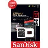 ซื้อ Sandisk Extreme Microsd 128Gb ความเร็ว เขียน 100Mb S อ่าน 60Mb S รองรับ V30 U3 C10 Uhs I ใหม่