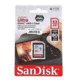 ราคา Sandisk Sd Card 32Gb Ultra Sdhc Class 10 80Mb S ใหม่ล่าสุด