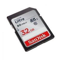 โปรโมชั่น Sandisk Ultra 32Gb Class 10 Sdhc Uhs I Memory Card Up To 80Mb S รุ่น Sdsdunc 032G Gn6In