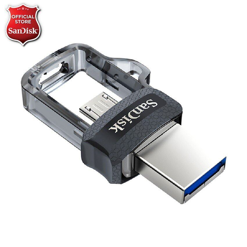 SanDisk Ultra Dual Drive m3.0 32GB USB 3.0 speed up to 150MB/s (SDDD3_032G_G46)