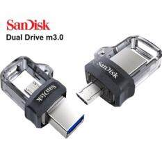 ราคา Sandisk Ultra Dual Flash Drive Usb3 16Gb รุ่น Sddd3 016G G46 Black Black Sandisk เป็นต้นฉบับ