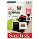 ขาย Sandisk Ultra Microsdhc 16Gb 653X 98Mb S ของแท้ Synnex รับประกัน10ปี ขนส่งโดย Kerry Express กรุงเทพมหานคร
