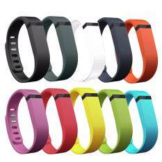 SAVFY  สาย Fitbit Flex ขนาดใหญ่ สำหรับเปลี่ยนแทนสายเดิม 10 เส้น WristBand & Clasp (คละสี)