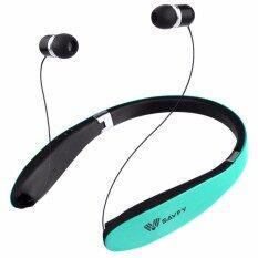 Savfy หูฟังสเตอริโอ แบบพับเก็บได้ Wireless Bluetooth V4 1 เป็นต้นฉบับ