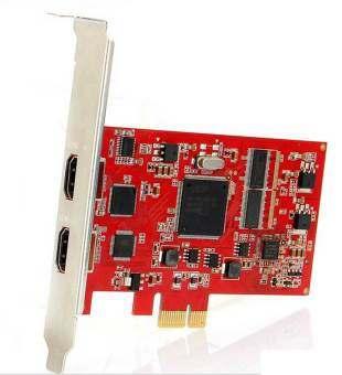 SD762H PCI-Express HDMI HD Video Capture 2 Port HDMI Support 720P/1080i