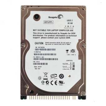 Seagate Hard Disk Notebook IDE (Refurbished) 80GB-