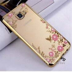 THB 175 Secret Garden Flowers Diamond TPU Soft silicone Cover Case for Samsung .