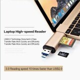 Seenda 3 In1 Otg Type C Card Reader การ์ดรีดเดอร์ เชื่อมต่อโอทีจี Usb 3 Cardreader Usb A Micro Usb Combo To 2 Slot Tf Sd Type C Card Reader ถูก