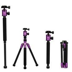 ซื้อ Selens 157 48ซม T 170 ขาตั้งและโมโนกับหัวบอลสำหรับ Dslr กล้อง สีม่วง ถูก จีน