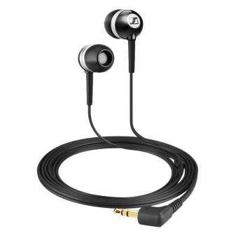 Sennheiser CX 300 II Precision เสียงเบสที่เพิ่มขึ้นหูฟัง (สีดำ) - INTL-